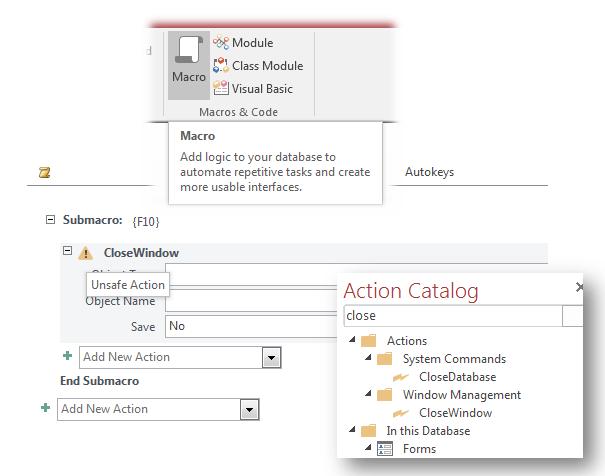 How to Create an Autokeys Closing Macro in Microsoft Access