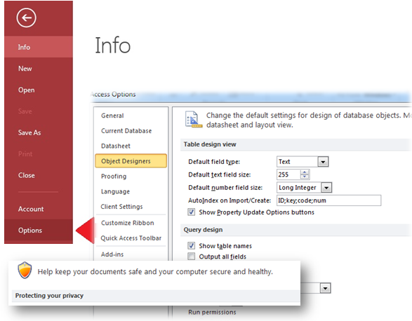 Microsoft Access Database: 5 Settings To Avoid With Microsoft Access Options Causing You Headaches