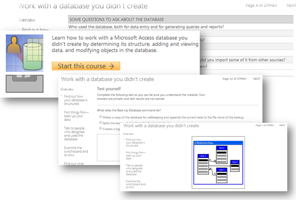 microsoft access database working with a database you didnt create