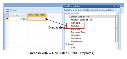ms access 2007 templates