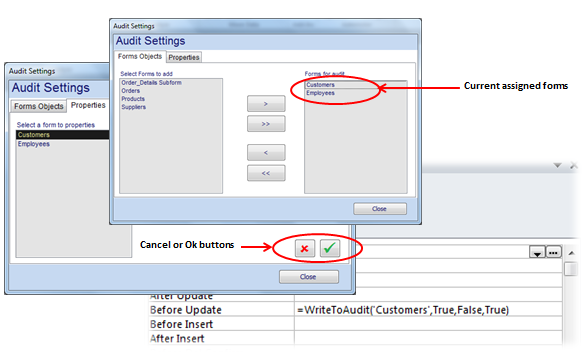 audit tool ms access