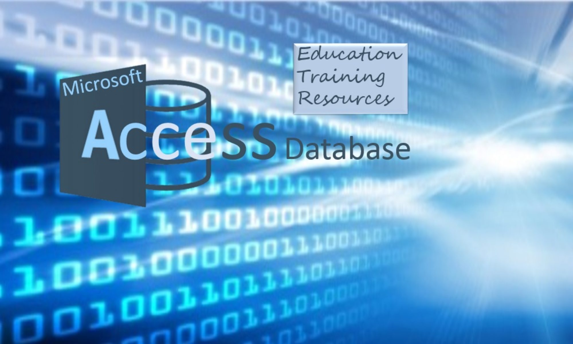 how to create a database using microsoft access