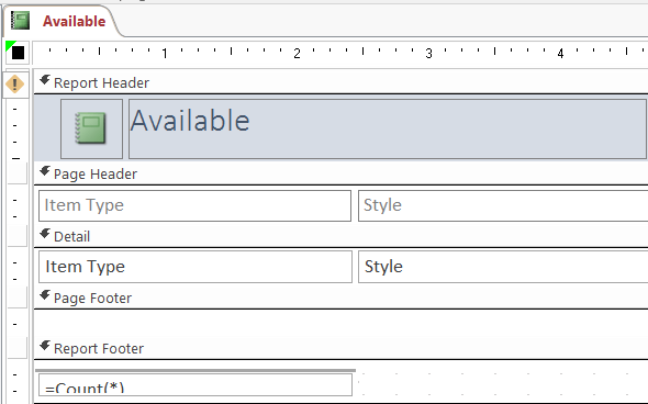 how to insert date and time into the header and footer sections of your ms access report